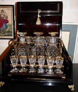 Art & Antiques - cave à liqueur napoléon iii à caisson - Cofanetto Per Liquori
