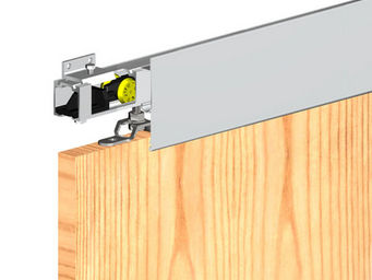 Wimove - bandeau aluminium anodise naturel - longueur 1,8 m - Motore Per Porte D'interni