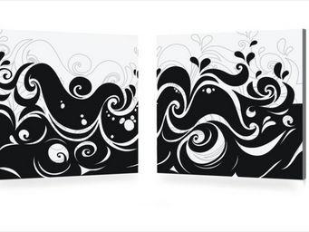 Miliboo - vagues - Quadro Decorativo