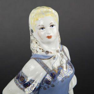 Expertissim - deux statuettes en porcelaine russe - Statuetta