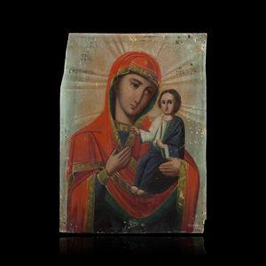 Expertissim - petite icône. europe centrale, fin du xixe siècle - Icona