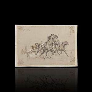 Expertissim - henri vincent-anglade. lithographie - Stampa