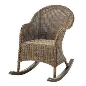 Maisons du monde - rocking chair hampton - Sedia A Dondolo