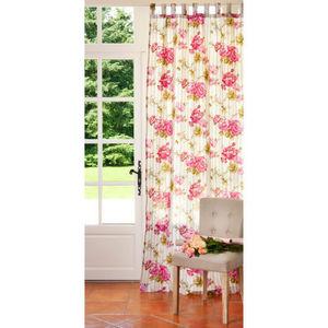 Maisons du monde - rideau floralie - Tende Con Passanti