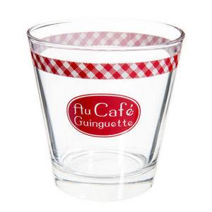 Maisons du monde - gobelet guinguette rouge - Bicchiere
