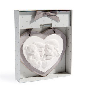 Maisons du monde - céramique parfumée 2 oursons - Pannello Decorativo