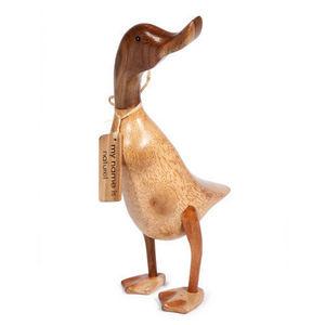 MAISONS DU MONDE - statuette canard naturel - Figurina