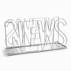 Maisons du monde - porte-revues ajouré métal - Portariviste