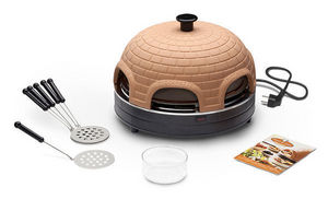 Food & Fun - pr 6.1 pizzarette basic 6 persons - Mini Forno Elettrico Per Pizza
