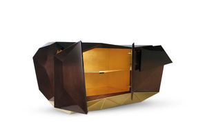 BOCA DO LOBO - diamond chocolate - Credenza Bassa
