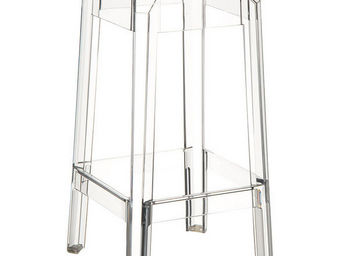 Alterego-Design - tabouret de bar 'leno mini' transparent en techn - Sgabello Da Bar