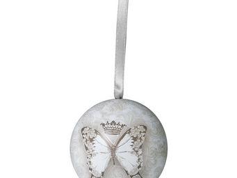 Mathilde M - boule décorative le règne des papillons - Sfera Decorativa