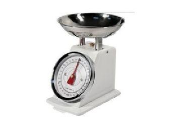 Fomax - balance de cuisine en métal - couleur - blanc - Bilancia Elettrica Da Cucina