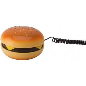 Present Time - téléphone hamburger - Telefono Decorato