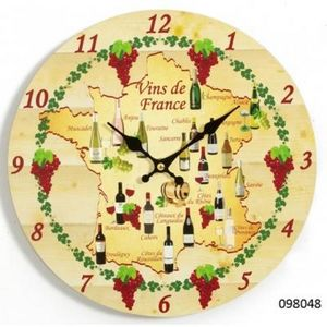 FAYE - horloge vins de france - Orologio A Muro