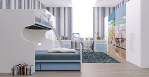 Cia International - set 224 - Letto A Soppalco Bambino