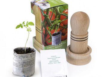 Radis Et Capucine - la fabrique à pots - Giardino Per Interni