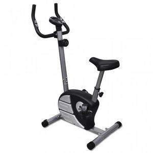 WHITE LABEL - vélo d'appartement fitness magnétique - Cyclette