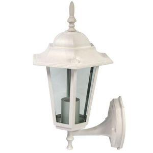 WHITE LABEL - lampe murale de jardin éclairage extérieur - Lampione Da Giardino