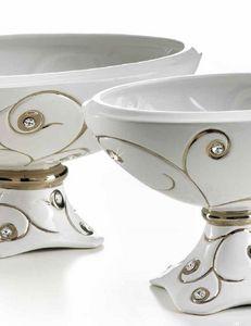 Ceramiche Stella - minas - Coppa Decorativa
