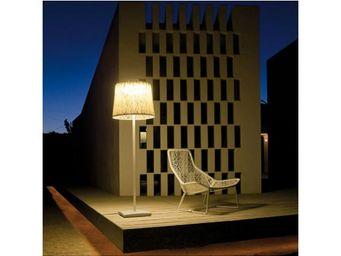 VIBIA - lampadaire extérieur wind 4055 - Lampione Da Giardino