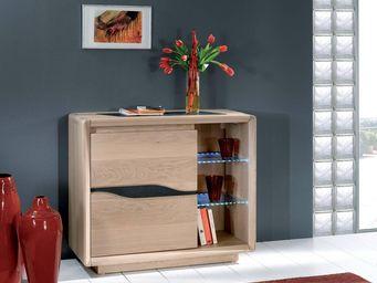 Ateliers De Langres - ceram - meuble d'entrée - Cassettiera Bassa