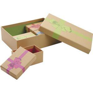 Aubry-Gaspard - lot de 5 boites - Scatola Sistematutto
