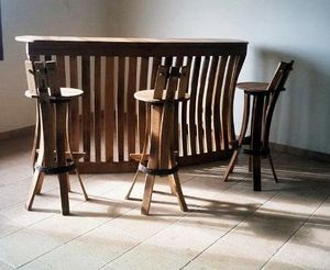 MEUBLES EN MERRAIN -  - Bancone Bar