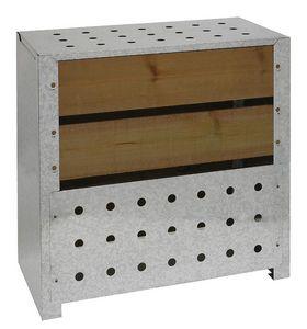 Guillouard - silo à compost acier et bois - Contenitore Compostaggio