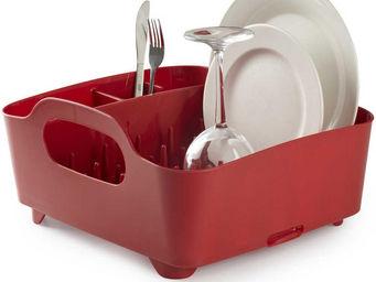 Umbra - egouttoir à vaisselle transportable avec poignées - Scolapiatti