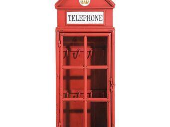 Kare Design - armoire à clefs london telephone - Armadietto Chiavi