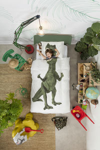 SNURK - dinosaurus rex - Lenzuola Bambino