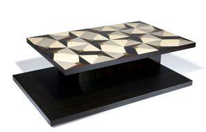 Negropontes - gio - Tavolino Rettangolare