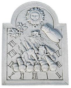 DECO GRANIT - cadran solaire la moisson en pierre reconstituée - Meridiana