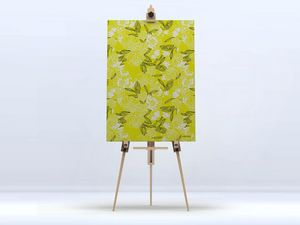 la Magie dans l'Image - toile pivoines moutarde - Stampa Digitale Su Tela