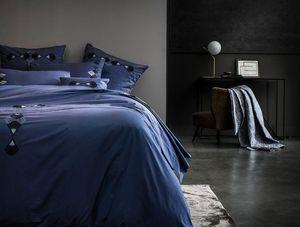 D. Porthault - bijou bleu - Parure Lenzuola