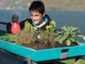 UP&GREEN - 'le jardin de poche - Fioriera Per Arredo Urbano