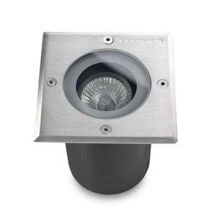 Leds C4 - spot encastrable extérieur carré gea ip67 - Faretto / Spot Da Incasso Per Pavimento