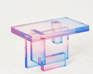 SAEROM YOON - crystal series_ table_ 04 - Tavolino Rettangolare