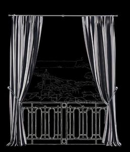 RIDEAUX AND CURTAINS - antibes - Tende A Clip