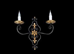 Bronze D'art Francais -  - Lampada Da Parete