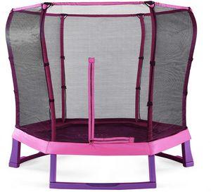 Plum - trampoline avec filet de protection 220 cm - Trampolino Elastico