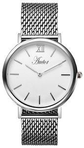 AUCTOR - l'élégante silver 36 - Orologio