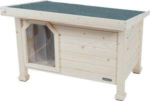 ZOLUX - niche en bois à toit plat - Cuccia