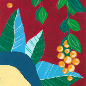 Les Artychauts - gouache n°2 - Pittura