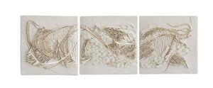 BELGIN BOZSAHIN - triptych ii - Quadro Decorativo