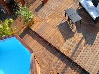 TEKABOIS - kit terrasse bois pour platelage - Pavimento Per Terrazzo