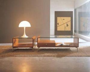 TS Furniture -  - Tavolino Soggiorno Con Ripiano