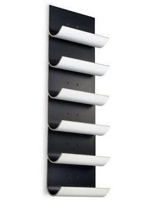 Vinnomio - vertical negro /blanco - Portabottiglie (cucina)