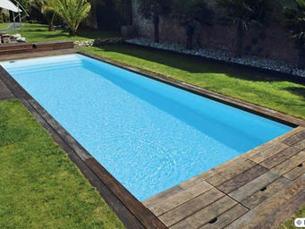 CARON PISCINES -  - Piscina Lunga E Stretta (lap Pool)